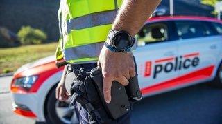 Déploiement policier de vendredi sur Vaud et en Valais: trois affaires distinctes