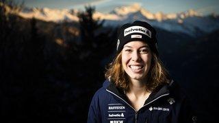 Coupe du monde à Crans-Montana: la tête du classement général pour Michelle Gisin? Interview