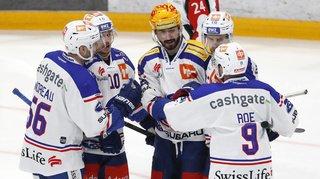 Hockey – National League: Zurich écrase Fribourg, Bienne s'impose à Ambri, Lugano bat Rapperswil-Jona