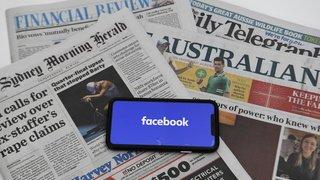 Australie: Facebook défie l'Australie en bloquant les contenus d'actualité