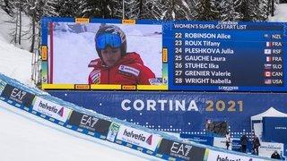 Mondiaux de Cortina: Lara Gut-Behrami grillée à la télévision