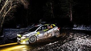 Philippe Roux a réussi son défi sur le mythique Rallye Monte-Carlo