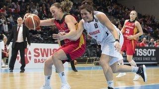 Basket: la Chablaisienne Katia Clément, de la retraite à la sélection en dix mois