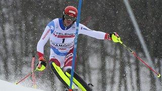 Ski alpin: Ramon Zenhäusern deuxième après la première manche à Chamonix