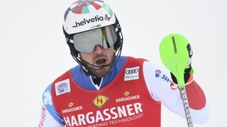 Ski alpin: Luca Aerni se battra pour le podium du slalom de Chamonix