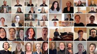 Bramois-Miège-Uvrier: trois chœurs unis en vidéo