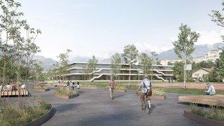 Le nouveau collège de Sion coûtera près de 85millions