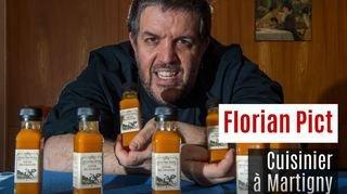 Nos artisans ont du talent: Florian Pict, cuisinier à Martigny