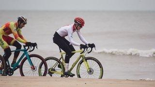 Cyclocross: «Rouler dans les vagues, c'était surprenant», reconnaît Gilles Mottiez