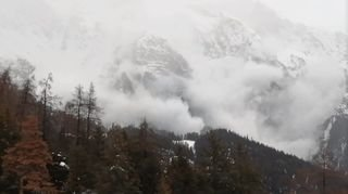 Intempéries: des événements spectaculaires en Valais, mais aucun blessé