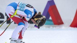 Ski: comment Lara Gut, le dos bloqué, a-t-elle pu mettre une seconde à ses rivales?
