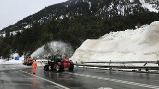 Après l'avalanche: la route du Simplon rouvre le 4février