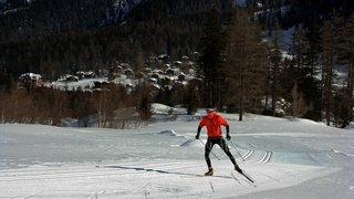 La Fouly: des cours de ski de fond pour tous