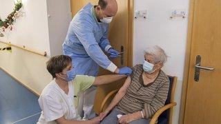 Coronavirus: 78% des résidents des homes valaisans sont vaccinés