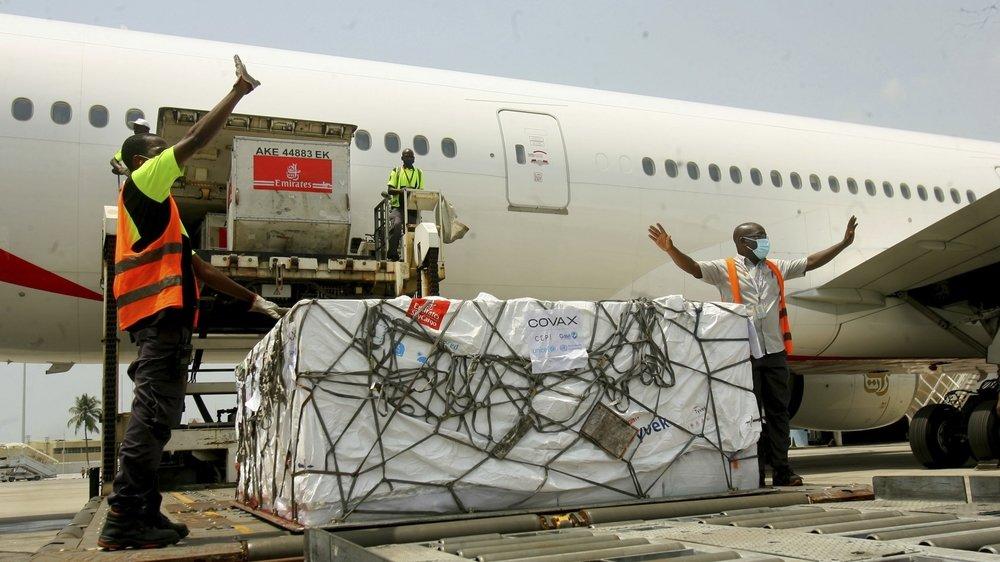 La Côte d'Ivoire a pu bénéficier vendredi de la livraison de 504 000 doses.