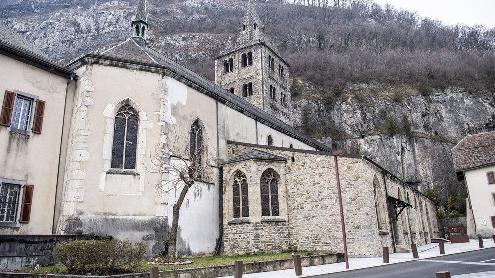 L'Abbaye de Saint-Maurice avait accueilli ce prêtre venu suivre une formation en comptabilité.