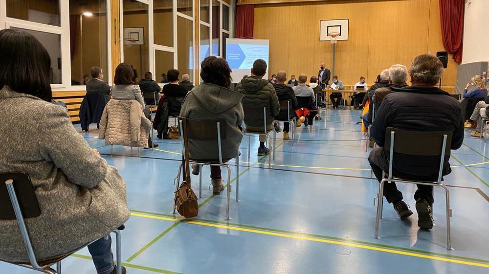 A Veysonnaz, l'assemblée primaire a rassemblé deux fois plus de citoyens qu'à l'accoutumée.
