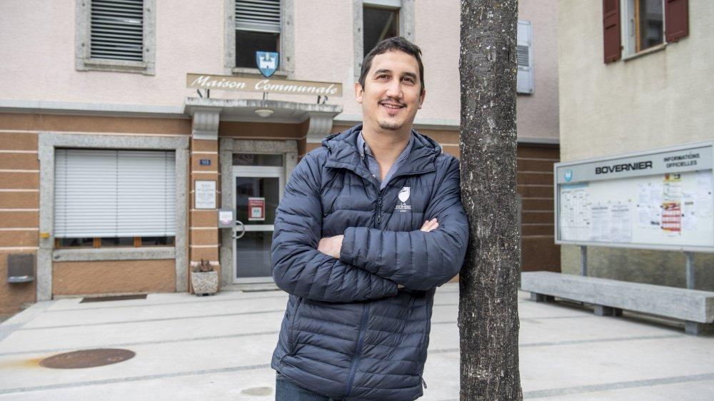 Félicien Michaud, secrétaire communal de Bovernier. C'est par lui que nous commençons nos recherches.