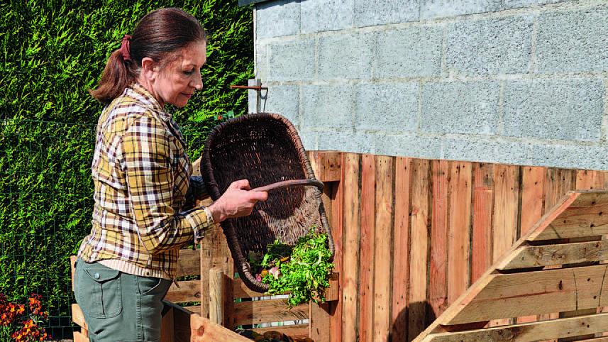 Le compost permet de recycler et valoriser ses résidus alimentaires.
