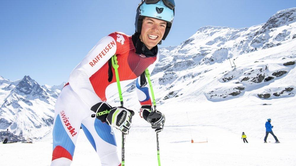 L'Anniviard évolue à domicile cette semaine entre Zinal, Grimentz et Saint-Luc. Il vise les cadres C de Swiss-Ski pour la fin de l'hiver prochain.