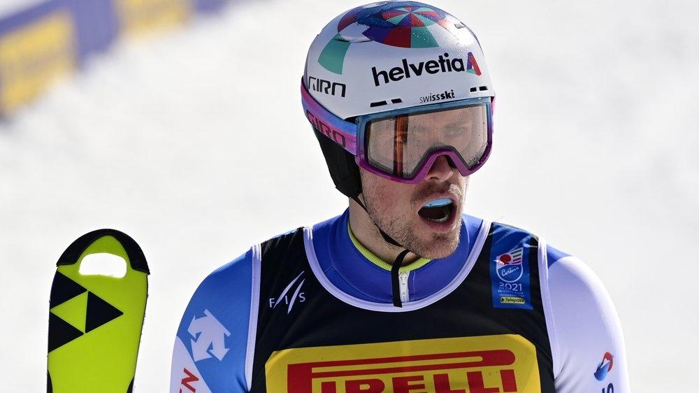 Daniel Yule a pris le cinquième range du slalom des Mondiaux de Cortina.