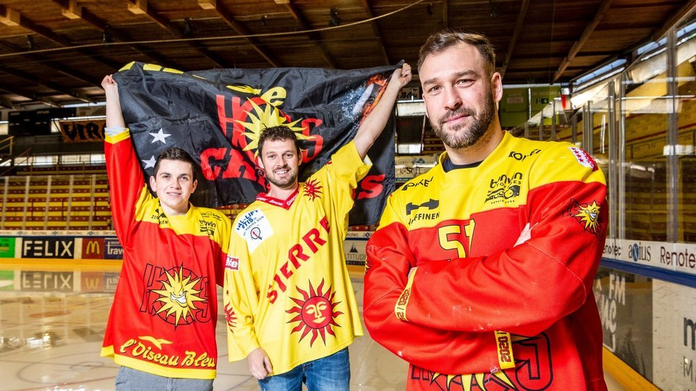 Loïc Neuwerth et Valentin Zufferey ont hâte de retrouver Graben afin de soutenir le HC Sierre et Goran Bezina.