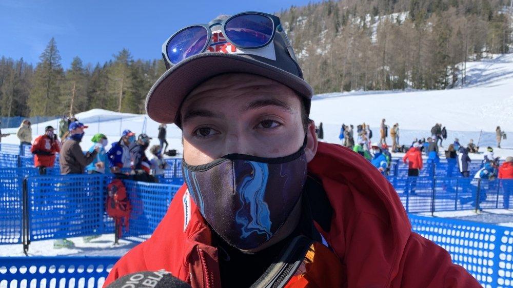 Eliminé en slalom, Loïc Meillard quitte malgré tout Cortina avec deux médailles de bronze.