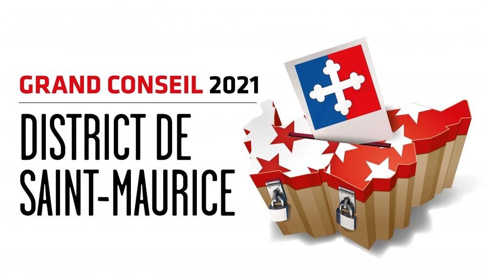 Cantonales 2021: les candidates et candidats au Grand Conseil du district de Saint-Maurice