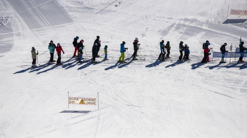 Les stations de ski souffrent à cause du Covid.