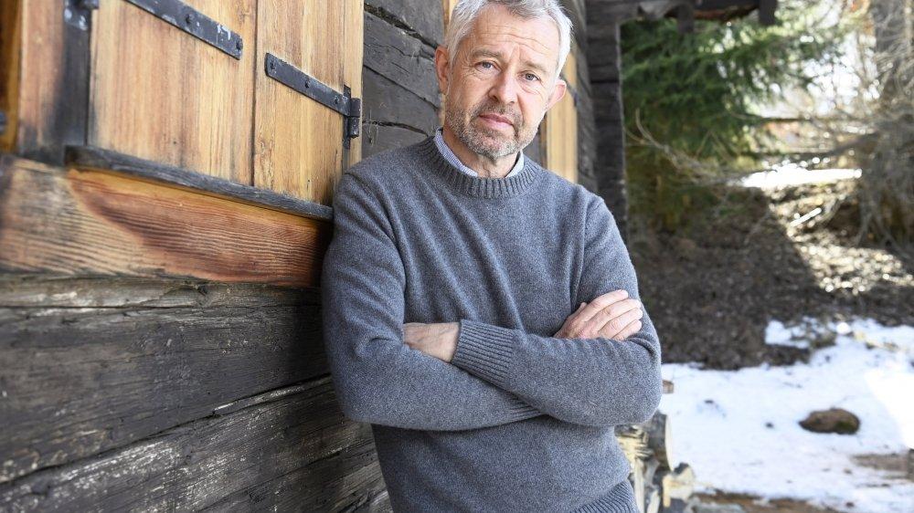 Nicolas Bideau, directeur de Présence Suisse, est chez lui dans la station de Vercorin, qu'il fréquente depuis l'enfance. Pour lui, le Valais est un ambassadeur très efficace pour l'image de la Suisse à l'étranger.