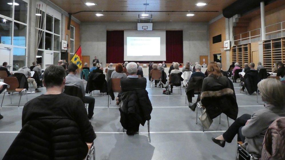 Un plan de protection sanitaire avait été mis en place lors de l'assemblée primaire de Noble-Contrée.