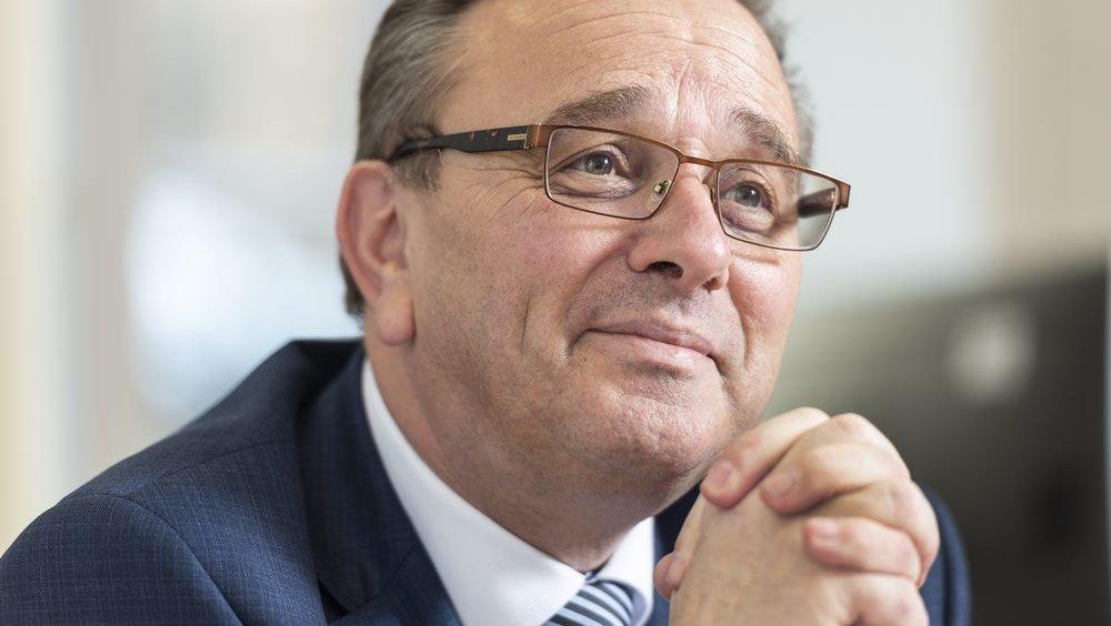 Le conseiller d'Etat Roberto Schmidt se fait quelques soucis pour le compte 2021 de l'Etat du Valais.