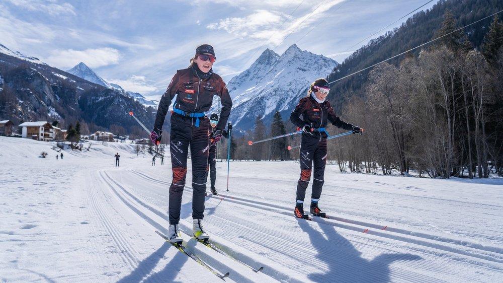 Le ski de fond vit une véritable renaissance en Valais depuis deux saisons.