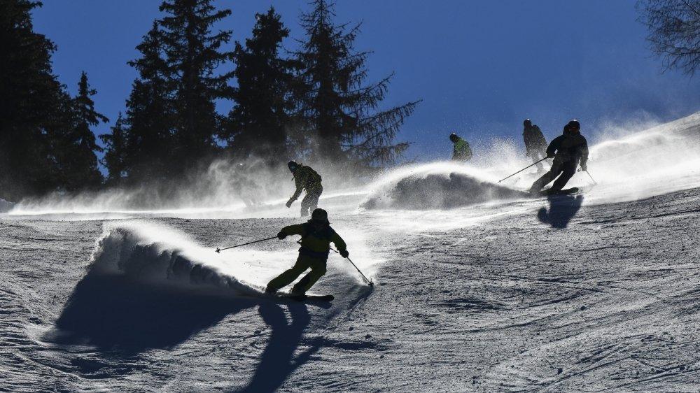 Les conditions sont bonnes pour profiter des dernières semaines de ski.