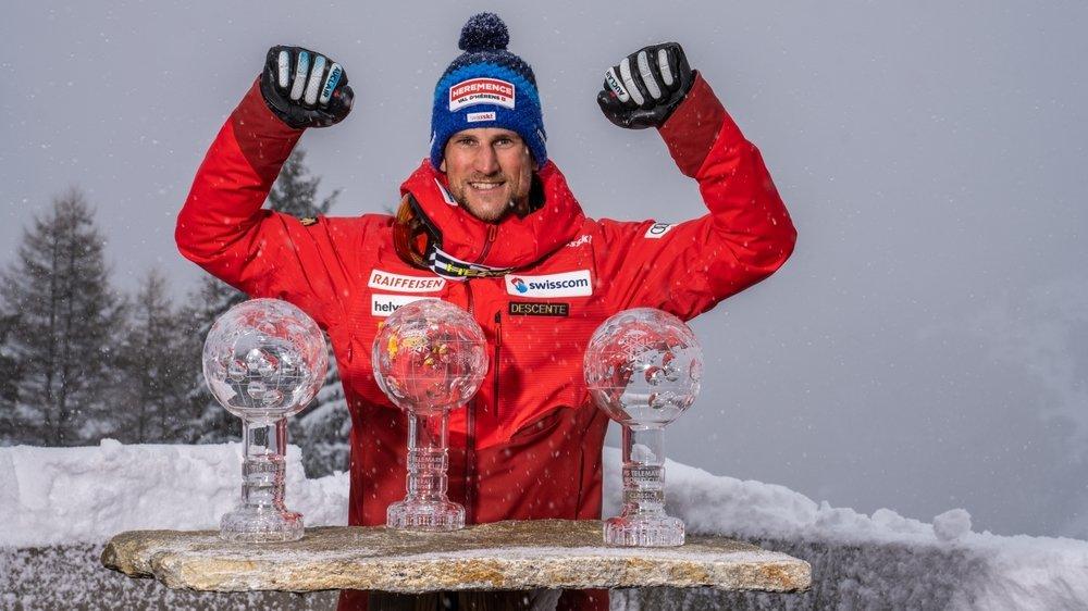 Bastien Dayer a conclu la saison de Coupe du monde en décrochant le grand globe du général mais aussi les globes de la classic et du sprint parallèle.