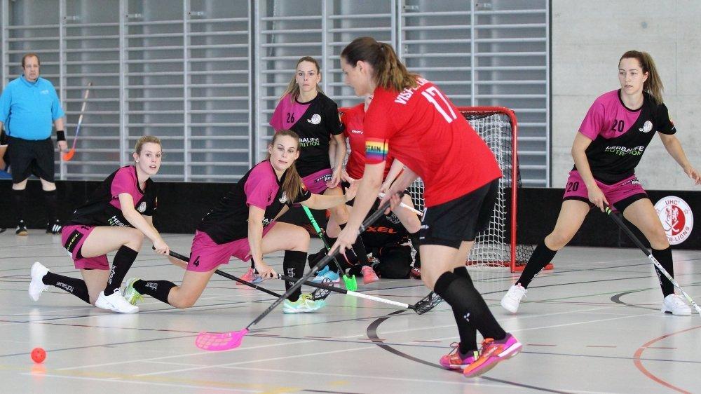 Le UHC Visper Lions, le club leader en Valais.