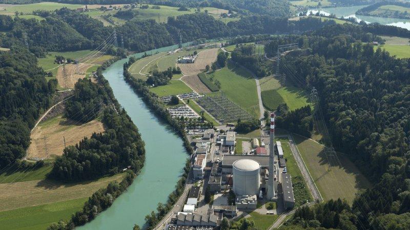 En cas d'inondation extrêmement rare, le site de la centrale nucléaire de Mühleberg, à l'arrêt, serait également inondé de près d'un mètre.