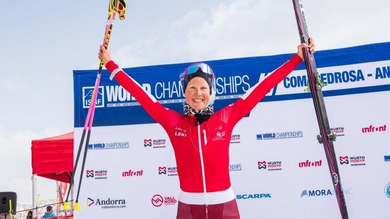 Victoria Kreuzer et Aurélien Gay se sont parés d'argent aux Mondiaux de ski-alpinisme en Andorre