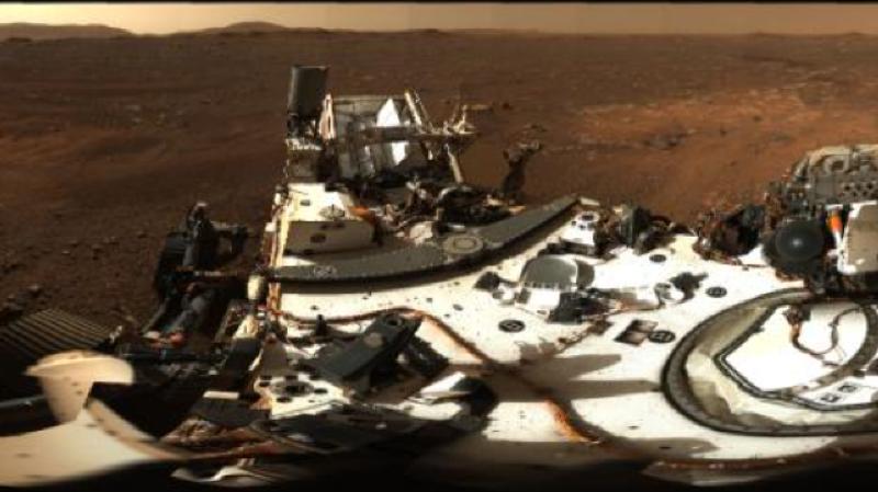 Espace: cliché panoramique de Mars pris par le rover Perseverance