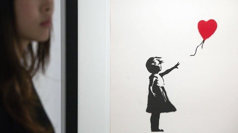 Bâle: plus de 100 reproductions de Banksy à voir dès le 1er mars