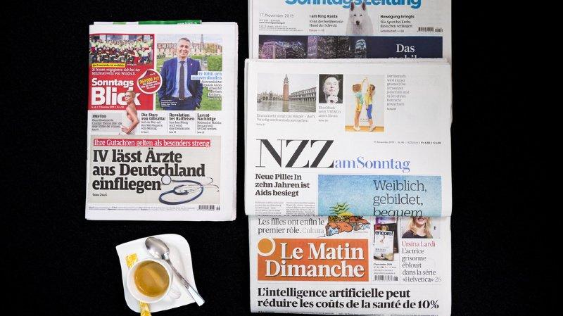 Revue de presse: coronavirus, accord-cadre avec l'UE et courrier A… les titres de ce dimanche