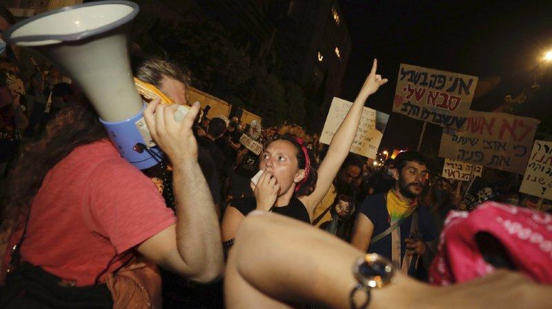 Israel: manifestations anti-Netanyahu à trois jours des législatives