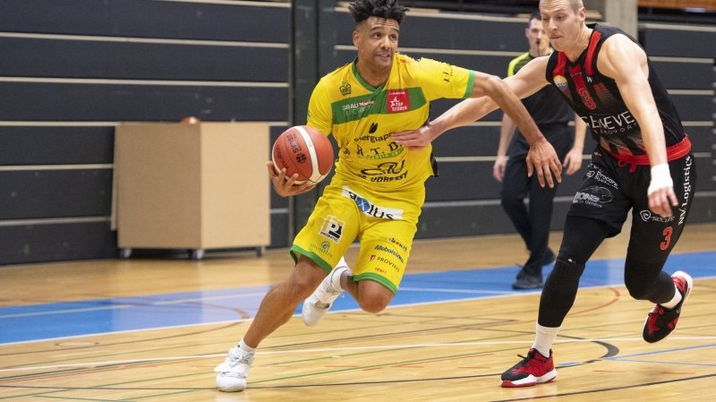 Basket: le BBC Monthey-Chablais se prend un mur à Genève
