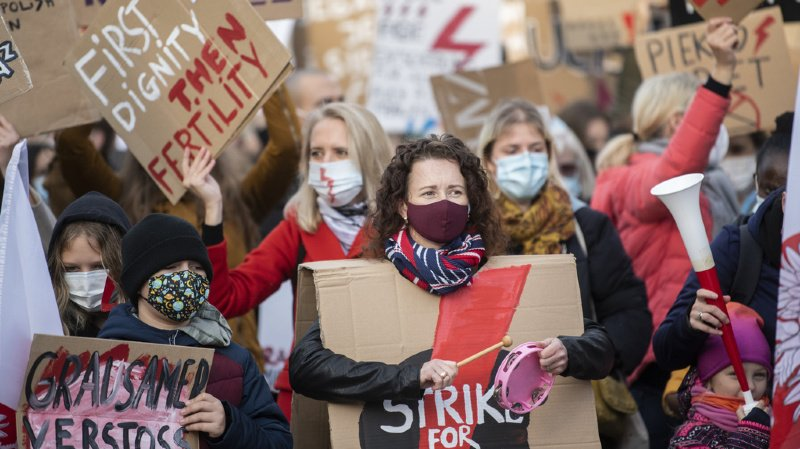 Zurich: la police disperse des rassemblements féministes