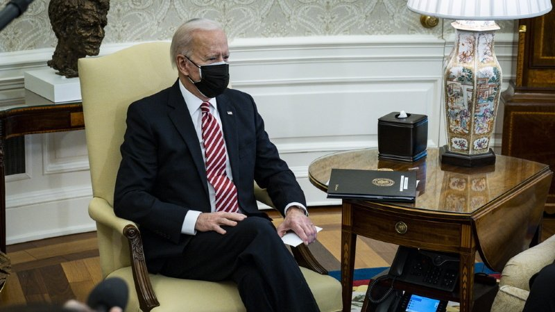 Diplomatie: première réunion du G7 pour Joe Biden