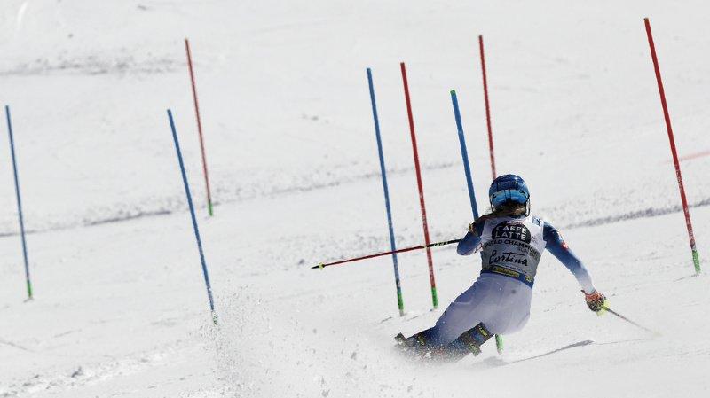 Ski alpin - Mondiaux de Cortina: la 2e manche du slalom n'inversera que le top 15