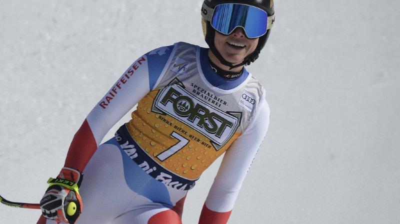 Ski alpin: Lara Gut-Behrami fait coup double à Val di Fassa