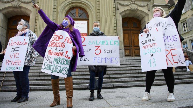 Journée des droits des femmes: des revendications dans toute la Suisse