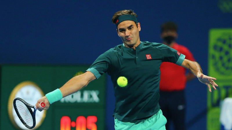 Roger Federer a remporté le premier set au tie-break.