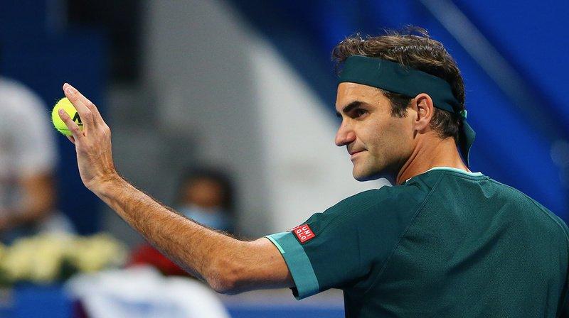 Tennis: Roger Federer s'incline face à Nikoloz Basilashvili en quart de finale du tournoi de Doha